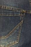 Джинсы джинсовой ткани закрывают вверх Стоковое Изображение