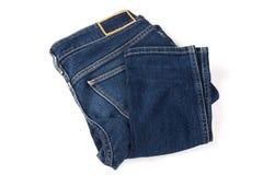 Джинсы на предпосылке, голубые джинсы стоковое изображение rf