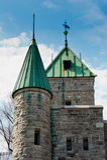 Джинсы Святого, Квебек (город) Стоковое фото RF