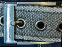Джинсы с поясом стоковое фото rf