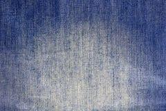 Джинсы ткани, предпосылка текстуры джинсовой ткани Стоковая Фотография