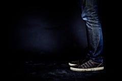 Джин популярные брюки Стоковое Изображение RF