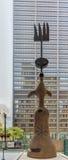 Джоан Miro - скульптура Чикаго Стоковая Фотография RF