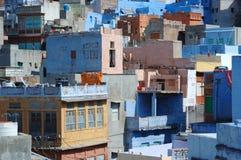 Джодхпур - голубой городок, второй по величине город в Раджастане, Индии Стоковое Фото