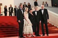 Джон Doman, Joaquin Феникс, Ekaterina Samsonov, Lynne Ramsay, a Стоковое Фото