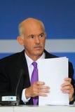Джордж Papandreou Стоковое Фото