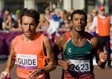 Джордж Pina в марафоне T12 стоковые изображения rf