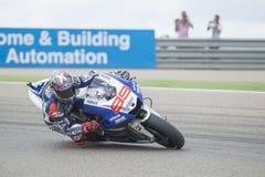 Джордж Lorenzo MotoGP Стоковое Изображение RF