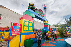 ДЖОХОР - 14-ОЕ НОЯБРЯ: Один из раздела в Legoland Малайзии 14-ого ноября 2012 в Джохоре Малайзии Стоковая Фотография RF