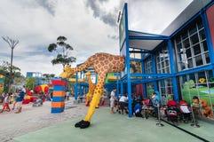 ДЖОХОР - 14-ОЕ НОЯБРЯ: Legoland в Джохоре Малайзии 14-ого ноября 2012 Парк атракционов Legoland в Малайзии Стоковые Изображения