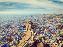 Джодхпур голубой город, Раджастхан, Индия Стоковые Изображения