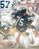 Джо Greene, Питтсбург Steelers Стоковое фото RF