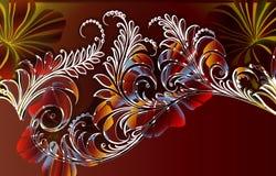 джунгли папоротника осени Стоковая Фотография RF