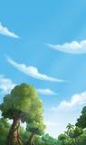 Джунгли иллюстрации Стоковая Фотография RF