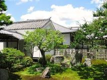 Дзэн виска nanzenji сада традиционное Стоковые Изображения