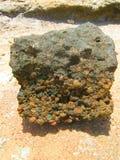 Дзэн камня песка предпосылки Стоковые Фотографии RF