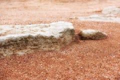 Дзэн камня песка принципиальной схемы Стоковая Фотография RF