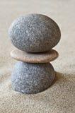 Дзэн камня спы камушков медицинского соревнования принципиальной схемы Стоковое Изображение RF