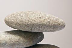 Дзэн камня спы камушков медицинского соревнования принципиальной схемы Стоковое фото RF