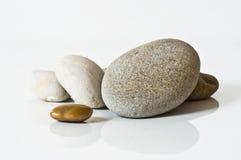 Дзэн камня спы камушков медицинского соревнования принципиальной схемы Стоковое Изображение