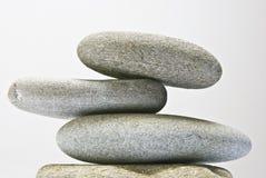 Дзэн камня спы камушков медицинского соревнования принципиальной схемы Стоковые Изображения