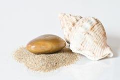 Дзэн камня спы камушков медицинского соревнования принципиальной схемы Стоковые Фото