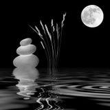 Дзэн лунного света Стоковые Изображения RF