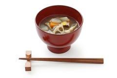 Дзэн овоща супа kenchinjiru еды японское Стоковые Изображения