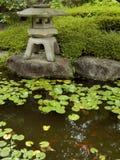 Дзэн пруда сада Стоковая Фотография
