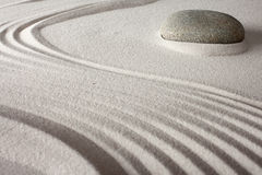 Дзэн релаксации сада японское Стоковое Изображение RF
