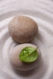 Дзэн сада каменное Стоковое фото RF