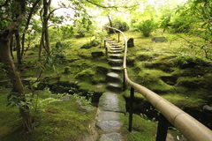 Дзэн японца сада Стоковое фото RF
