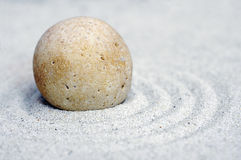 Дзэн 3 камушков Стоковая Фотография