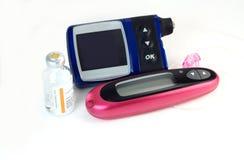 диабетические метры Стоковая Фотография RF