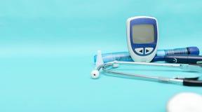 Диабет заболевание которое требует тщательного наблюдения стоковое изображение rf