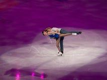 диаграмма белизна c davis торжественного m олимпийская катаясь на коньках Стоковые Изображения