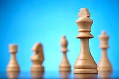 Диаграмма белого короля шахмат i Стоковая Фотография