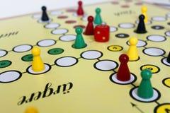 Диаграмма везение игры игры boardgame сердитое стоковое изображение rf