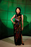 Диаграмма воска Терезы Teng в Мадам Tussauds Сингапуре стоковое фото
