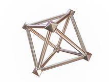 диаграмма геометрическое просто Стоковая Фотография RF