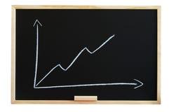 диаграмма дела классн классного стоковое изображение rf