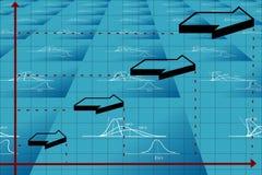 диаграмма дела Стоковые Фото