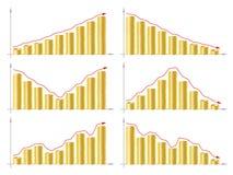 Диаграмма дела Стоковое Изображение