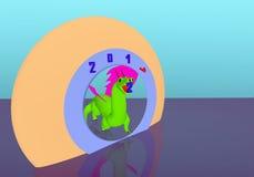 диаграмма дракона Стоковая Фотография