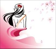 Диаграмма диаграмма девушки бесплатная иллюстрация