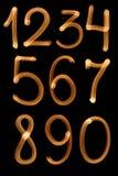 диаграмма изолированный комплект Стоковое Фото