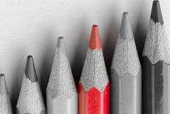 Диаграмма карандаша Стоковые Фотографии RF