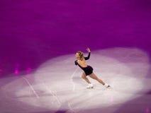 диаграмма кататься на коньках rochette joannie торжественного олимпийский Стоковые Изображения RF