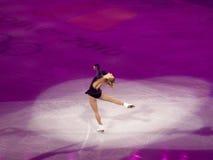 диаграмма кататься на коньках rochette joannie торжественного олимпийский Стоковое Изображение RF