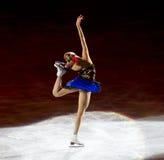 диаграмма конькобежец Стоковая Фотография